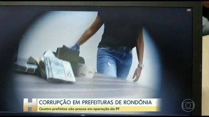 Prefeitos de quatro cidades de Rondônia são presos pela PF