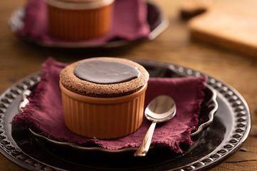 Suflê de Chocolate da Rita