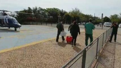 Hospital e Polícia Militar fazem 'força-tarefa' para transplante de pulmão em SP