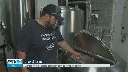 Sem água, cervejaria no Sumaré fecha no fim de semana em Ribeirão Preto, SP