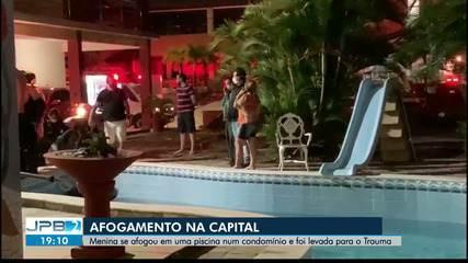 Menino se afogou em piscina de condomínio e foi levado para o Trauma
