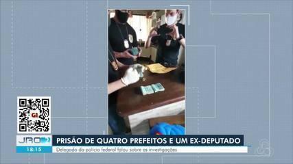 Delegado da Polícia Federal falou sobre as investigações da Operação Reciclagem