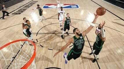 Melhores momentos de Boston Celtics 121 x 108 Miami Heat pela NBA