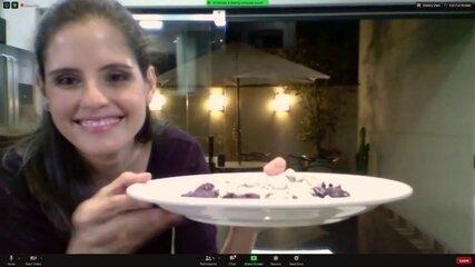 Experiência culinária digital oferece aula com chef renomado