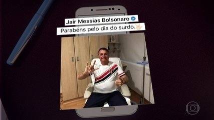 Bolsonaro recebe alta do hospital um dia depois da cirurgia para retirar cálculo na bexiga