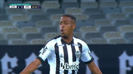 Os gols de Atlético-MG 3 x 1 Grêmio, pela 12ª rodada do Brasileirão 2020