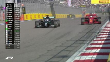 Hamilton bota de lado, passa Vettel sem trabalho e é o décimo no GP da Rússia