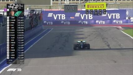 Bottas vence o GP da Rússia. Verstappen e Hamilton completam o pódio