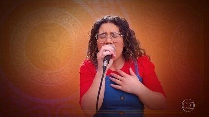 "Maria Eduarda Ribeiro canta ""Rise Up"""