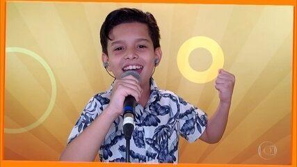 """Vinne Ramos canta """"Galopeira"""""""