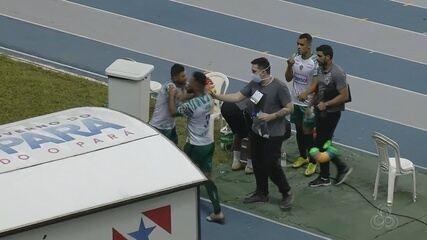 Thiago Spice e Derlan trocam empurrões após derrota para o Remo; veja vídeo