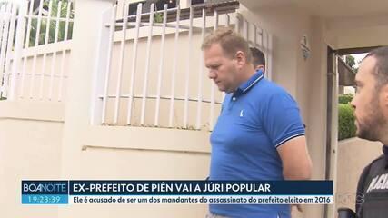 Justiça determina que ex-prefeito de Piên vá a júri popular