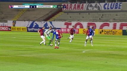 Melhores momentos: Paraná 1 x 1 Chapecoense pela 12ª rodada do Brasileirão Série B 2020