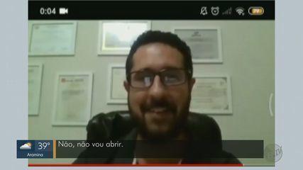 Universitários denunciam suposto caso de assédio durante aula on-line em Franca, SP