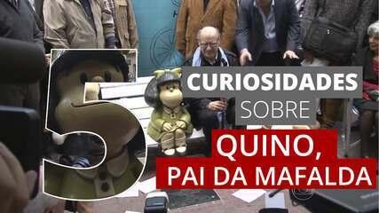 5 curiosidades sobre Quino, o pai da Mafalda