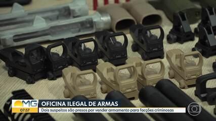 Polícia prende suspeitos de fornecerem armas para traficantes