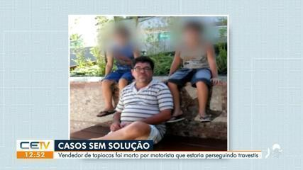 'Casos sem solução' resgata história de vendedor de tapiocas morto por motorista em alta velocidade em Fortaleza