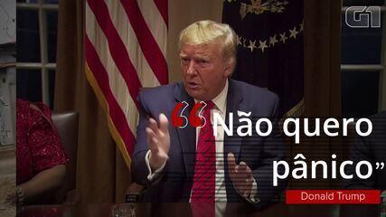 Trump testa positivo para Covid-19: veja frases do presidente americano sobre a pandemia