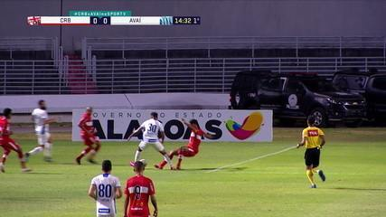 Melhores momentos: CRB-AL 3 x 1 Avaí pela 13ª rodada do Brasileirão Série B 2020