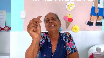 Mãe Nildete manda mensagem carinhosa para Luciano e fala sobre pandemia
