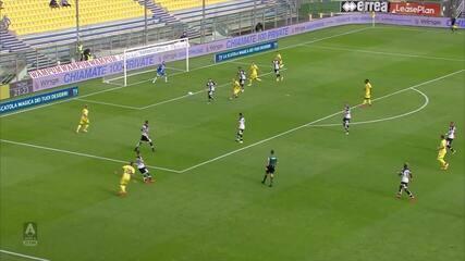 Melhores momentos de Parma 1 x 0 Hellas Verona pelo Campeonato Italiano