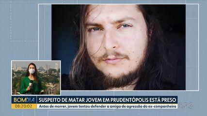 Suspeito de matar jovem em Prudentópolis é preso