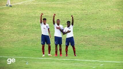 Os gols de Fluminense-PI 1 x 2 Bahia pela primeira fase da Copa do Brasil sub-20
