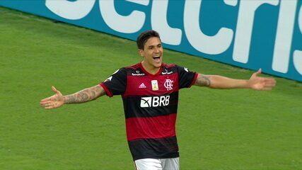 Os gols de Flamengo 3 x 0 Sport, pela 14ª rodada do Brasileirão