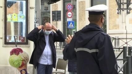 Novos casos de Covid-19 disparam na Europa