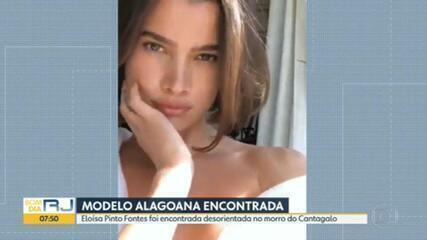 Modelo Eloísa Fontes é encontrada no Morro do Cantagalo