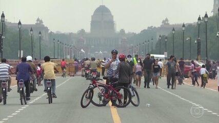 Índia dá sinais de perder o controle da pandemia