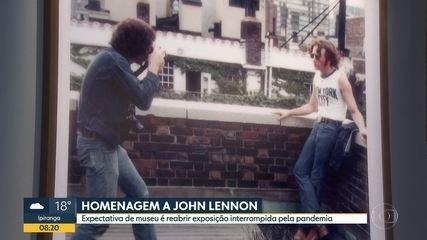 No dia do aniversário de John Lennon, museu espera retomar exposição sobre o músico