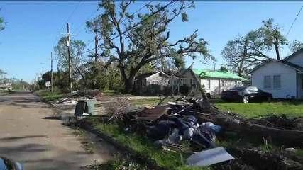 Furacão Delta deixa quase 700 mil casas e lojas sem luz nos EUA