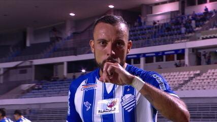 Os gols de CSA 4 x 0 Paraná, pela 15ª rodada do Brasileirão Série B