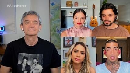 Agatha Moreira, Rodrigo Simas, Lexa e Mc Guimê responderam se sentem saudade da vida de solteiro