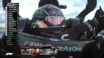 Histórico! Lewis Hamilton vence na Alemanha e iguala recorde de vitórias de Michael Schumacher