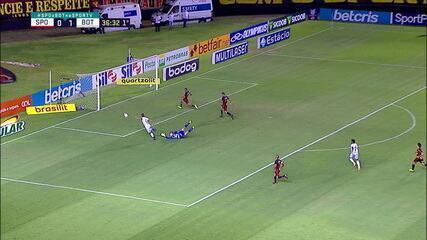 Melhores momentos de Sport 1 x 2 Botafogo pela 15ª rodada do Campeonato Brasileiro