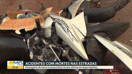 Feriado tem acidentes com mortes nas estradas