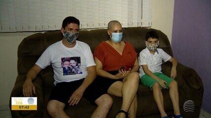 Apoio da família facilita o período de tratamento do câncer