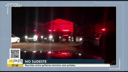 Reunião entre grileiros termina com prisões no sudeste do Pará