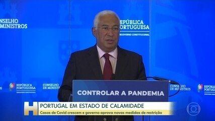 Casos de Covid crescem e governo de Portugal aprova novas medidas de restrição