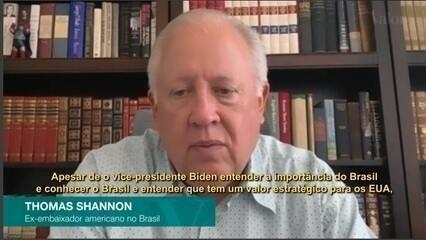 Eleição de Biden poderia criar problema com Brasil