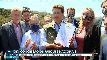 Primeiro edital de licitação para concessão de parques à iniciativa privada é lançado