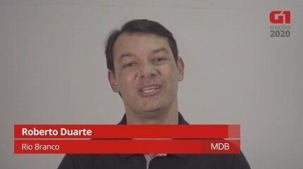 Roberto Duarte, do MDB, fala sobre Saúde
