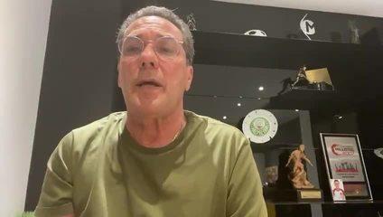 Vanderlei Luxemburgo faz agradecimento em despedida do Palmeiras