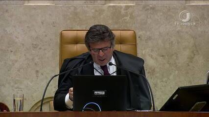 Julgamento no STF tem atrito entre Marco Aurélio e Fux