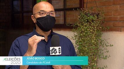 Candidato João Bosco (PCdoB) fala sobre empregos para cidade de São José