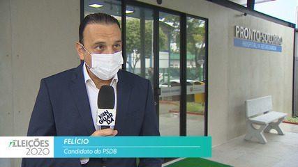 Candidato Felício (PSDB) fala sobre empregos para cidade de São José