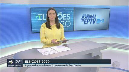 Veja como foi o dia de campanha de candidatos a prefeito de São Carlos