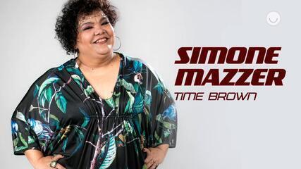 Conheça a participante Simone Mazzer, do Time Brown